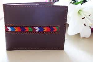 Mens Wallet In Brown Leather
